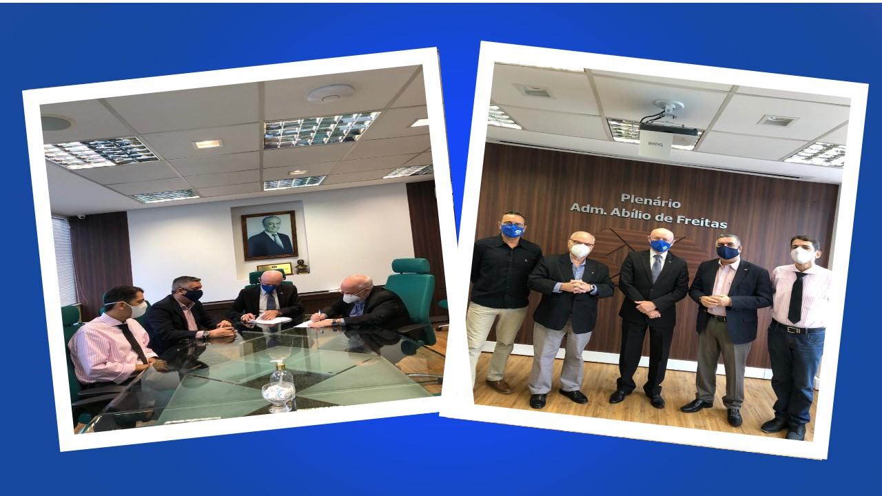 CRA-PA assina Convênio da Universidade Corporativa do Administrador do CRA-RJ