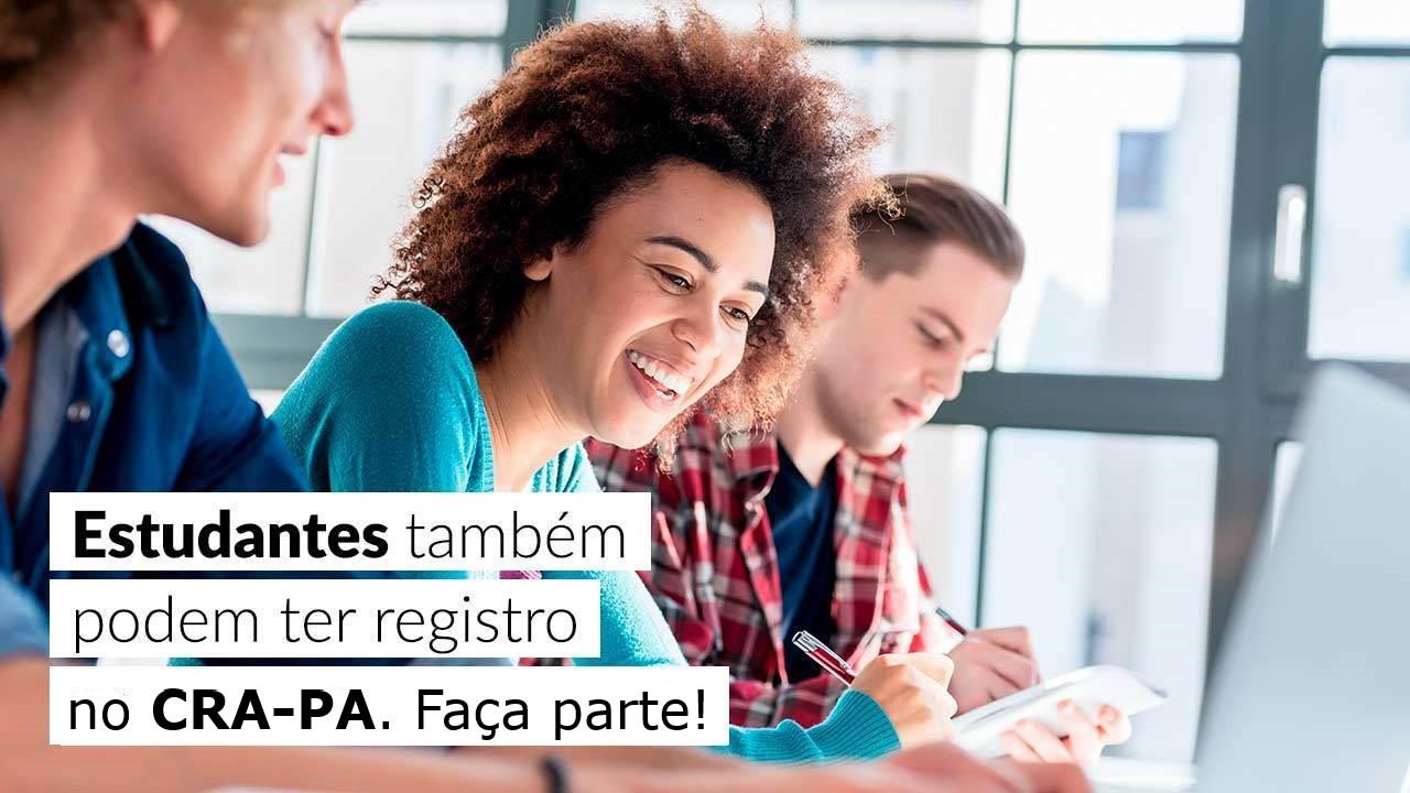 CRA-PA disponibiliza o Registro para Estudantes